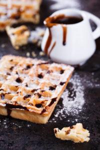 Waffel backen ohne Waffleisen - So gehts mit dem richtigen Waffelteig